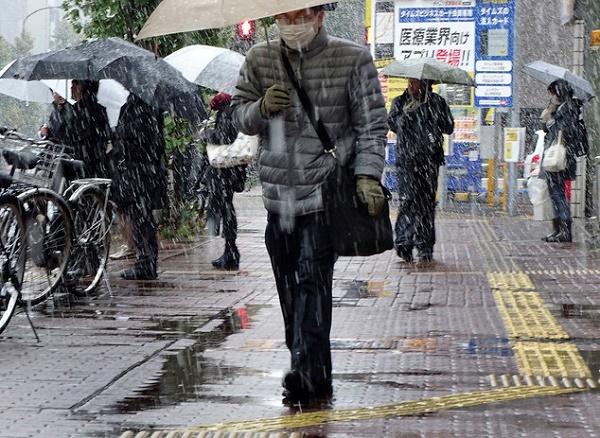 tuyết rơi tại Nhật Bản