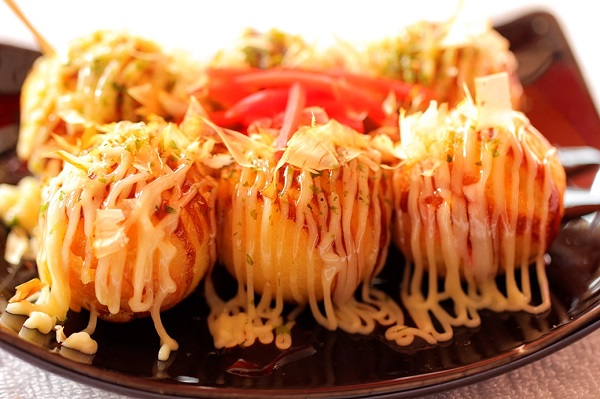 bánh Takoyaki du học nhật bản