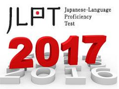 lịch thi JLPT cập nhật năm 2017