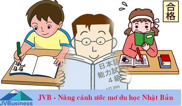 Học tiếng Nhật tại Công ty du học Nhật Bản JVB