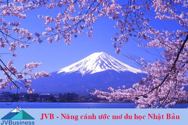 đi du học Nhật Bản cùng JVB