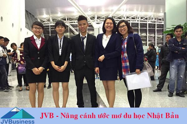 Công ty du học Nhật Bản JVB