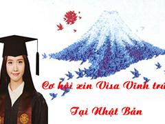 Cơ hội xin Visa Vĩnh trú khi đi du học Nhật Bản