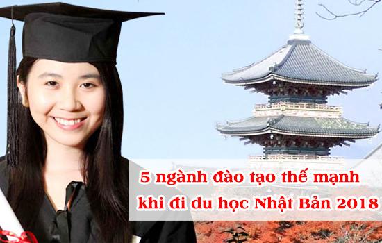 5 ngành đào tạo thế mạnh khi đi du học Nhật Bản
