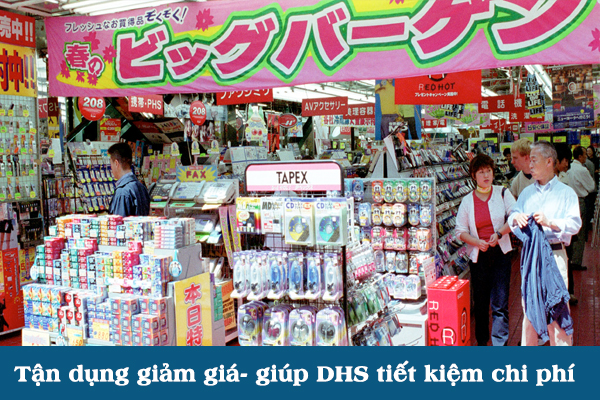 Kinh nghiệm du học Nhật Bản trong việc mua sắm