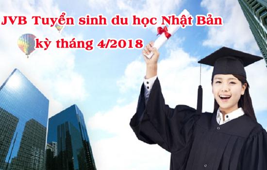 Tuyển sinh du học Nhật Bản kỳ tháng 4/2018