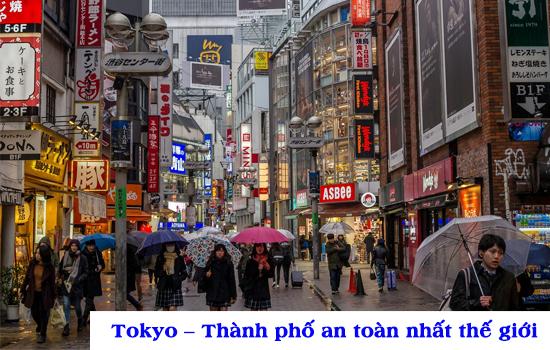 Tokyo Nhật Bản - Thành phố an toàn nhất thế giới