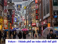 Tokyo Nhật Bản - Thành phố an toàn