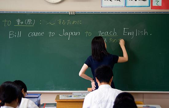 Giáo viên tiếng Anh là ngành có mức lương cao tại Nhật