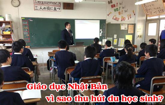Giáo dục Nhật Bản vì sao thu hút du học sinh?