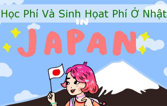 Chi phí và sinh hoạt khi đi đi du học Nhật Bản