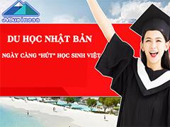 Du học Nhật Bản hút học sinh Việt Nam