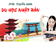 JVB tuyển sinh du học Nhật Bản kỳ tháng 7 năm 2018